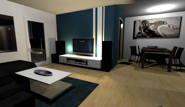 wandgestaltung wohnzimmer weie mbel. Black Bedroom Furniture Sets. Home Design Ideas