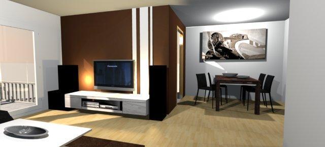 forum - wandfarbe, wohnzimmer/essbereich mit bilder - forum ... - Wohnzimmer Ideen Heller Boden