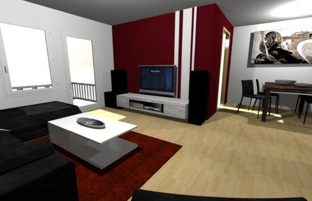 forum - wandfarbe, wohnzimmer/essbereich mit bilder - forum, Wohnzimmer